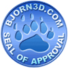 bjorn 3d seal of approval