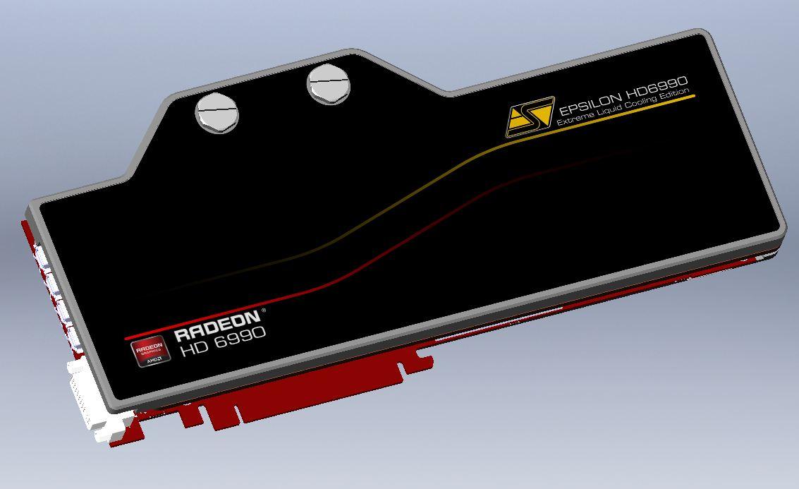 Swiftech Epsilon HD6990 & Komodo 6900-V2