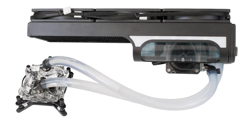Swiftech H320 X2 Aio Cpu Liquid Cooling System