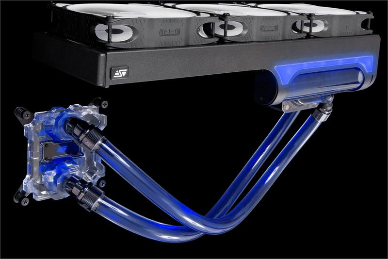Swiftech H320 X2 Prestige Aio Cpu Liquid Cooling System