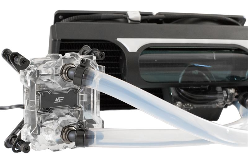 Swiftech H220 X2 Aio Cpu Liquid Cooling System
