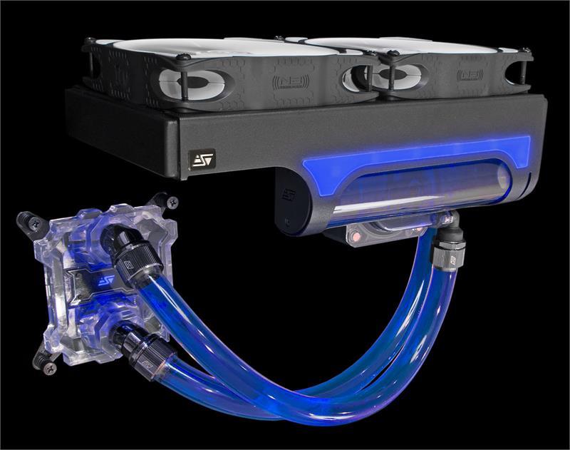 Swiftech H220 X2 Prestige Aio Cpu Liquid Cooling System